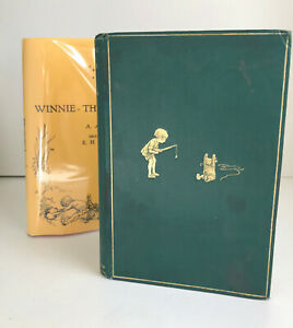 Winnie the Pooh, 1929, A.A.Milne, Stated 8th Edition; First Form ~w/Facsimile DJ