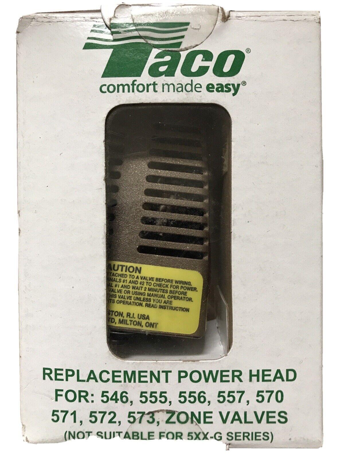 Taco Replacement Zone Valve Power Head 24V 545,555,556,557,570 60 Days Return