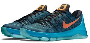 newest db4f0 2987d Details about BRAND NEW Nike Kevin Durant KD 8 VIII OKC Blue Lagoon Shoes  749375-480 - Size 12