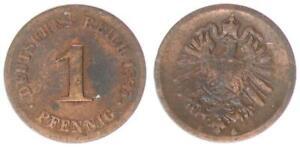 1 Peniques Imperio 1885G S 34845