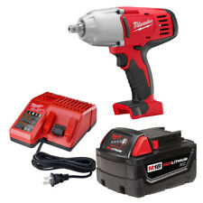 """Milwaukee 2662-21 M18 1/2"""" High-Torque Impact Wrench with Pin Detent Kit"""