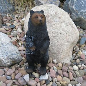 Braun Bär Braunbär Figur Statue Skulptur Kanada Natur Deko Dekoration Grizzly