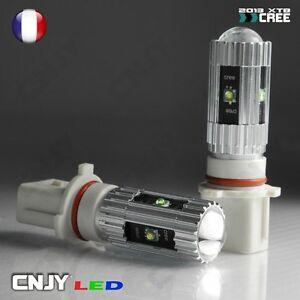 2-AMPOULE-LED-P13W-PSX26W-CREE-25W-6000K-BLANC-12V-FEUX-ANTI-BROUILLARD-DIURNE