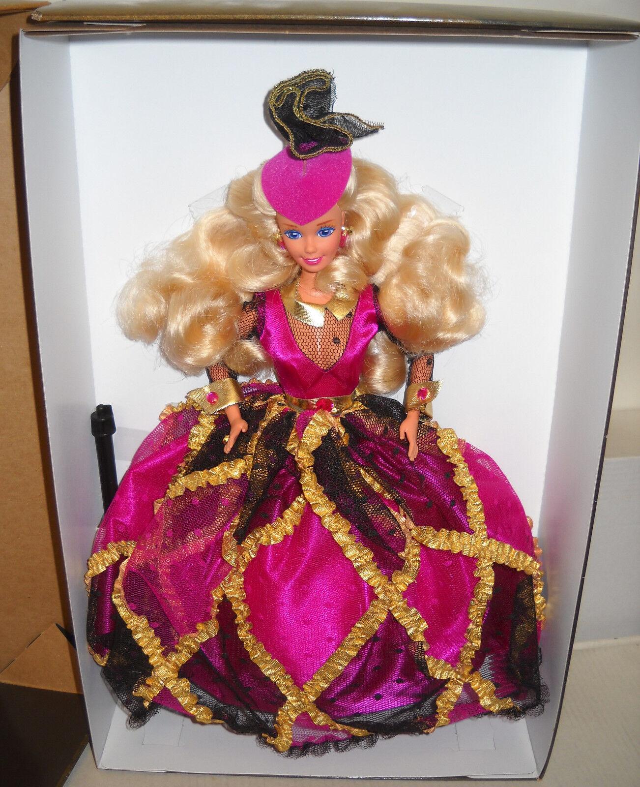 Nunca quitado de la Caja Mattel Spiegel catálogo Royal invitación Barbie Edición Limitada