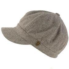 Winter Fall Wool Blend 8 Panel Oversize Newsboy Paperboy Cap Hat Gray S 56cm