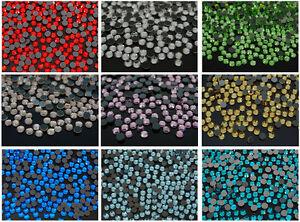 10Gross-1440Pcs-Top-Quality-Czech-Crystal-Round-Rhinestones-Iron-Hotfix-Flatback