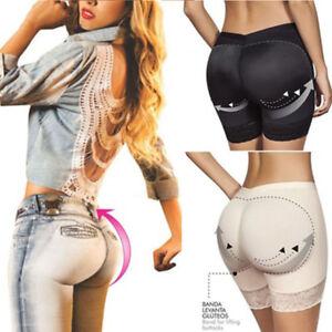 Women-Buttock-Padded-Underwear-Briefs-Knickers-Bum-Lift-Shaper-Enhancer-Pants-HW