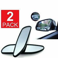 Alician HD 360 Degree Wide Angle Adjustable Car Rear View Convex Mirror Auto Rearview Mirror Vehicle Blind Spot Rimless Mirrors