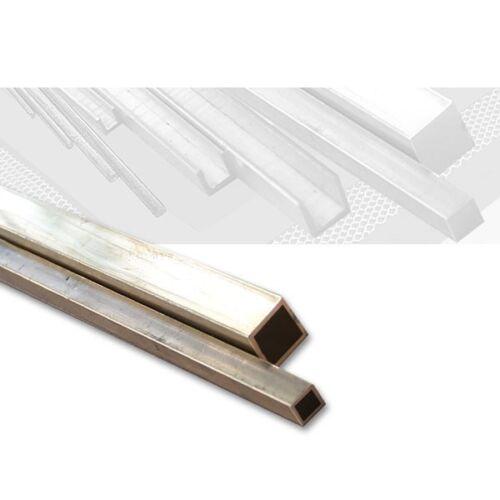 Messing Vierkantrohr quadratisch 1,0 x 1,0 mm, Länge 100 cm