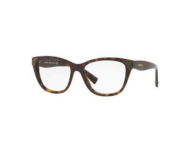 Instancabile Montatura Occhiali Da Vista Valentino Autentici Va3008 Havana 5022 Domanda Che Supera L'Offerta