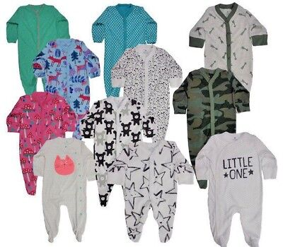 BNWT NEXT Baby Boys//Girls Newborn//0-1 0-3-6-9-12  Animal Sleepsuits//Babygrow