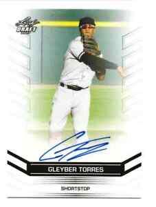 2017-Leaf-Draft-GLEYBER-TORRES-Rookie-Autograph-Yankees-Auto-comp-bowman-chrome