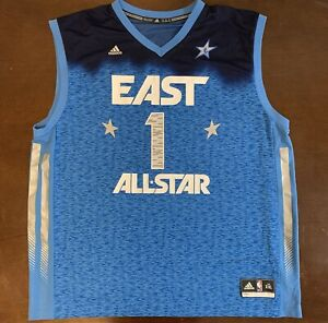 info for 58f9e 2e678 Details about Rare Adidas Chicago Bulls Derrick Rose 2012 All Star Game  Basketball Jersey