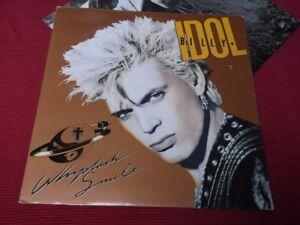 Billy-Idol-Whiplash-Smile-1986-EX-UK-first-pressing-LP
