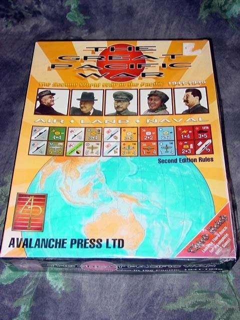 Avalanche Press-la grande guerre du Pacifique 1941-1945 L'empire japonais (scellé)