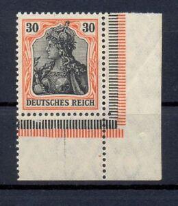 DR-89-II-y-Germania-30-Pfg-auf-orangeweiss-ER-postfrisch-tiefst-geprueft-kr50