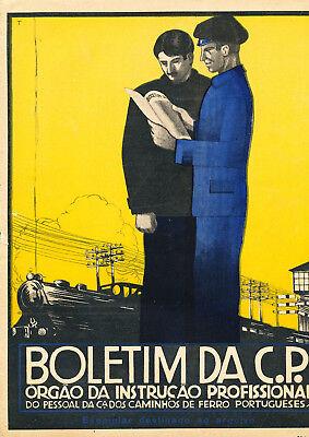 Boletim Da C.p. - Portugiesische Eisenbahnerzeitschrift - 1.1930 Bequemes GefüHl