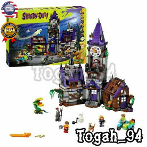 Compatible-Scooby-Doo-Mystery-Machine-Mansion-75904-Building-Bricks-Pack-860-pcs