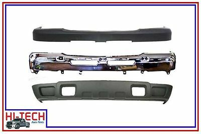 NEW 03 04 05 06 07 CHEVY SILVERADO 2500 3500 CHROME FRONT BUMPER COMBO 15287617