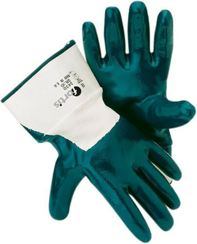 FORTIS Handschuh Nitril Mechanic Gr 10 blau Inh. 12 Paar