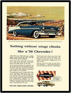 1956 Chevy V8 Bel Air *The Hot one/'s even Hotter* Vintage AD Sedan//Beauville//++