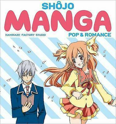 1 of 1 - Shojo Manga Pop & Romance by Kamikaze Factory Studio How To Art Book