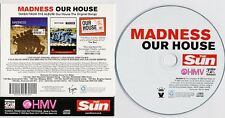 MADNESS - OUR HOUSE - PROMOTIONAL 3 TRACK CD SINGLE IN CARD PICTURE SLEEVE - SKA