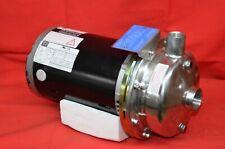 Mokon 231m Weg Motor With Stainless Steel Pump Amp Impeller Assy 3hp 3 Phase 460v