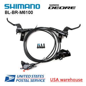 SHIMANO-DEORE-BR-BL-M6100-Bike-MTB-Hydraulic-Disc-Brake-Set-F-amp-R-M6000-OE