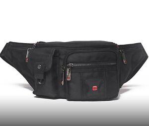 Details About Travel Gear Waterproof Men Waist Bag Swiss Quality Pack Sport Camping 2
