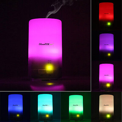 LED Essential Oil Aroma Diffuser Ultrasonic Air Aromatherapy Atomizer