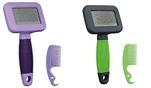 Grooming-Brush-with-Extra-Soft-Wire-Bristles-Grooms-amp-Stimulates-Small-Pets