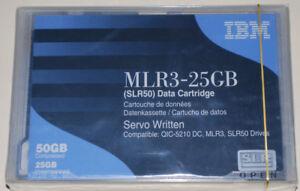 5 IBM MLR3-25GB  SLR50 25//50GB 59H4128 dat tape cartridges NEW factory sealed