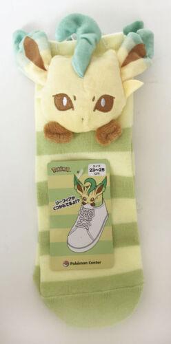 Leafia Pokemon Center Original Mascot Short Socks Leafeon 4521329276342