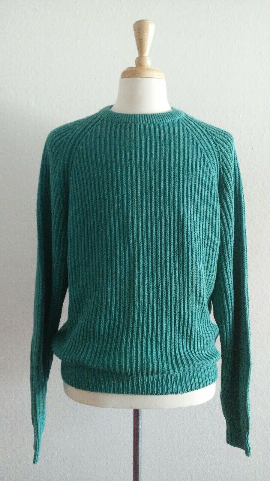 Vintage Highway 101 North Men's bluee Green Knit Sweater Sz L