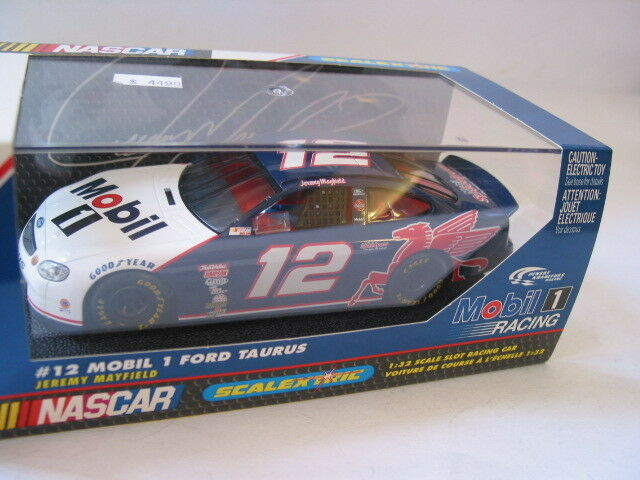 COLLECTABLE SCALEXTRIC C2143 FORD TAURUS MOBIL 1  JEREMY MAYFIELD  BNIB