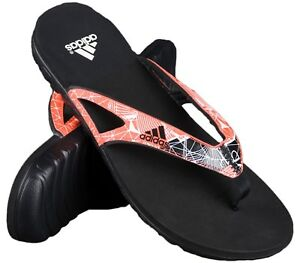 sports shoes cd27b 2813c Image is loading Adidas-Mens-Calo-5-Graphic-Flip-Flops-Slides-