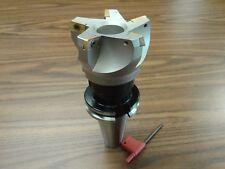 3 75 Degree Indexable Face Shell Millmilling Cutter Cat40 Apkt 506 75ap 30