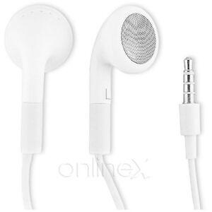 Auricular con micrófono Universal para Samsung Galaxy Note N7000 Blanco a1150