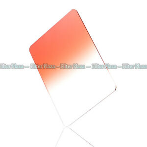 "100x150mm 4""x6"" Graduated Orange Color Filter For Cokin Z-Pro LEE HITECH Holder"