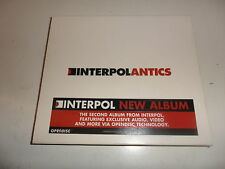 CD  Interpol - Antics