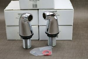 Grohe-Chrome-Pillar-Union-Pair-18121