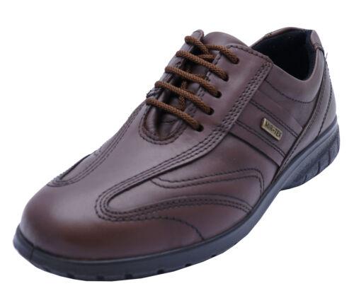 Femmes Cotswold simbrook Cuir Imperméable Marron à Lacets Travail Chaussures 3-8