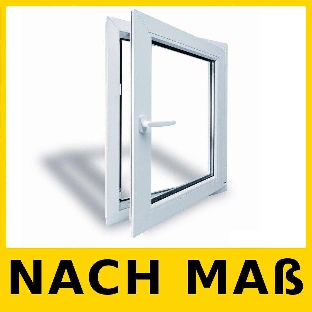 Energiesparen Fenster 73 mm DIN Dreh Kipp Rechts/Links NACH MAß Kunststoffenster