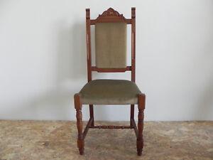 Sedie Schienale Alto Legno : Sedia in legno massello con schienale alto stile impero design