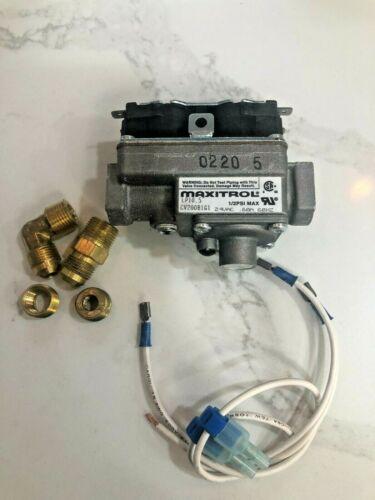 Maxitrol 24V Gas Valve Kit CV200B1G1 Suburban 160742 Hydroflame 36728 Duotherm