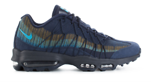 new style 5548b 63066 Image is loading Nike-Air-Max-95-Ultra-Jacquard-Navy-Blue-