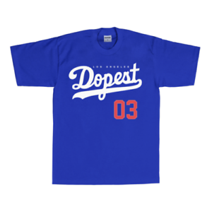 STREETWISE DOPEST T-shirt Urban Streetwear Tee Mens Blue NWT