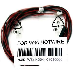 original asus VGA Hotwire 3x Kabel HD7970 Platinum R.O.G. ROG NEU ...
