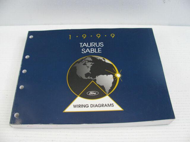 Exc 1999 Ford Electrical Wiring Diagram Repair Manual Book